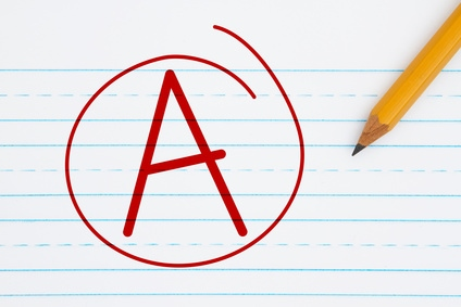 Grade of A