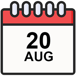 CalendarDateAug20